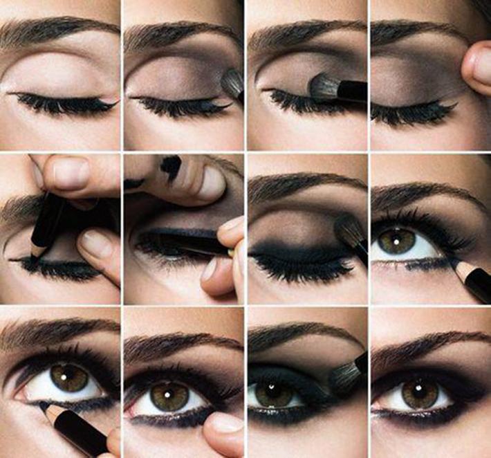 Как сделать тени для глаз в домашних условиях видео